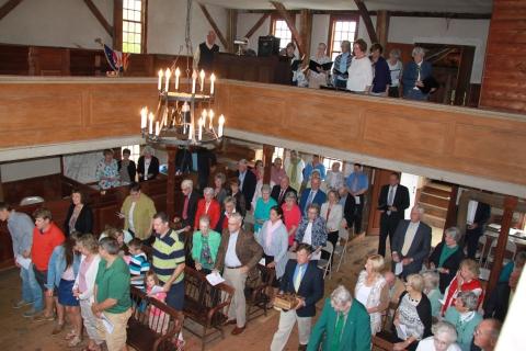 Heritage Sunday 06-18-17 orig mtg house